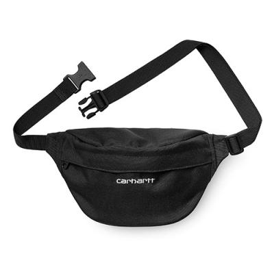 (I025742) PAYTON HIP BAG-BLACK/WHITE