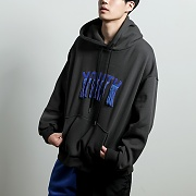 youth embroidered hoodie[darkgray]