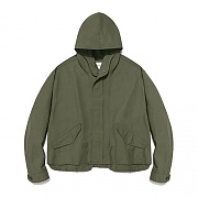 [ISVJ13] M-51 CUTOFF JACKET IS [KHAKI]
