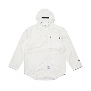 STIGMA STGM TECH WINDBREAKER JACKET WHITE