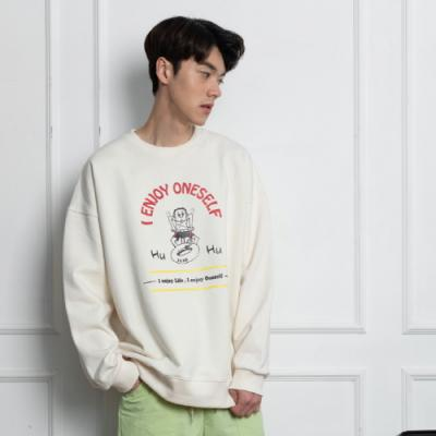 [일리오] HU~HU SWEAT SHIRT (크림)