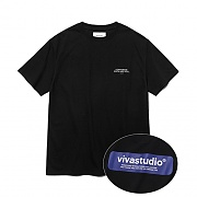 [ISVT01] BOX LOGO SHORT SLEEVE IS [BLACK]