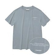 [ISVT02] NEW LOCATION SHORT SLEEVE IS [COOL GREY]