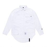 STIGMA STGM TECH OVERSIZED SHIRTS WHITE