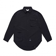 STIGMA STGM TECH OVERSIZED SHIRTS BLACK