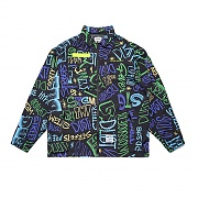 STIGMA STGM TECH OVERSIZED COACH JACKET PATTERN