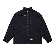 STIGMA STGM TECH OVERSIZED COACH JACKET BLACK