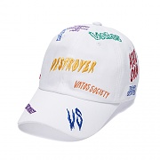STIGMA DESTROYER BASEBALL CAP WHITE