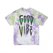 STIGMA TIE DYE OVERSIZED T-SHIRTS PURPLE