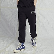 BLACK OCEAN SWEATPANTS BLACK