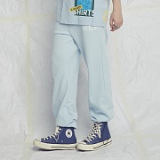 BLACK OCEAN SWEATPANTS SKYBLUE