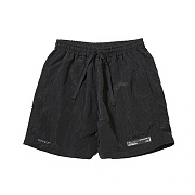 METALLIC SURF SHORT BLACK