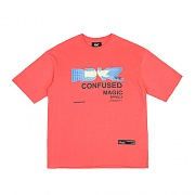 THE CONFUSED T-SHIRTS CORAL