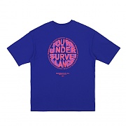 CIRCLE LOGO T-SHIRTS PURPLE