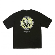 CIRCLE LOGO T-SHIRTS BLACK