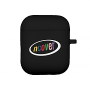 Ellipse color logo-black(airpod case)