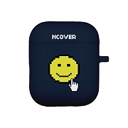 Smile cursor-navy(airpod case)