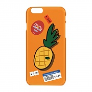 Pineapple sticker case