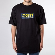 (163081960) OBEY INTERNATIONAL ICON 2 TEE-BLK