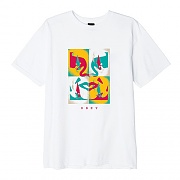 (163081999) OBEY X - ACTO ICON FACE TEE-WHT