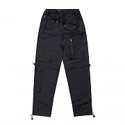 STIGMA X CALIPH ASH TECH STRING JOGGER PANTS BLACK