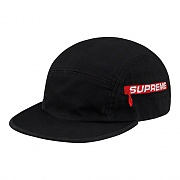 SIDE ZIP CAMP CAP-BLACK