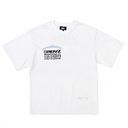 TM LOGO FLOCK T-SHIRTS WHITE
