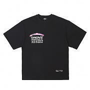TM LOGO FLOCK T-SHIRTS BLACK