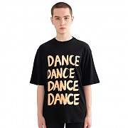 """DANCE"" Over fit T-Shirt Black"