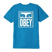 (163081874) OBEY EYES ICON TEE-SKY AZURE