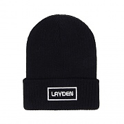SMALL BOX BEANIE-BLACK