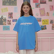 Saturn point tshirt-blue