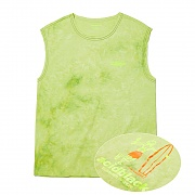 TIE DYE CUTTED SLEEVELESS (NEON)