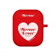 Heart lover-red(airpods jelly case)