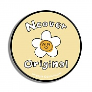 Flower graphic-cream yellow(smart tok)