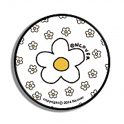 Flower dot-white(smart tok)