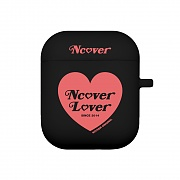 Heart lover-black(airpods jelly case)