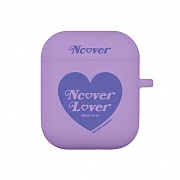 Heart lover-purple(airpods jelly case)