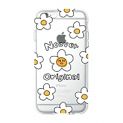 Smile flower dot(jelly case)