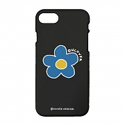 Flower point-black(color jelly case)