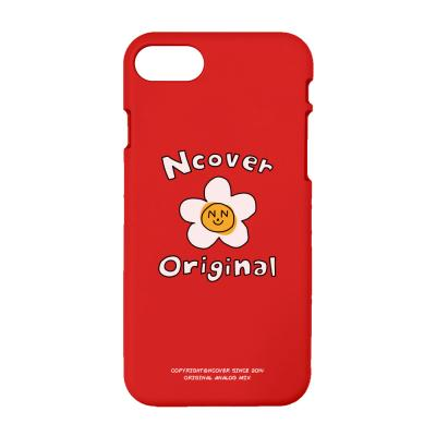 Flower graphic-red(color jelly case)