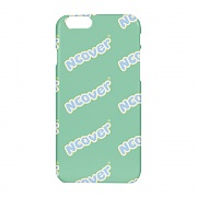 Color wave logo case-mint