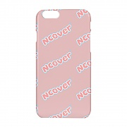 Color wave logo case-pink