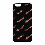 Diagonal logo case-black