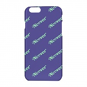 Diagonal logo case-purple