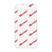 Diagonal logo case-white