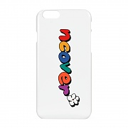 Pati color logo case-white