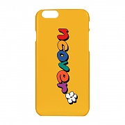 Pati color logo case-yellow
