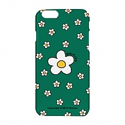 Small flower dot case-green