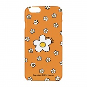 Small flower dot case-orange